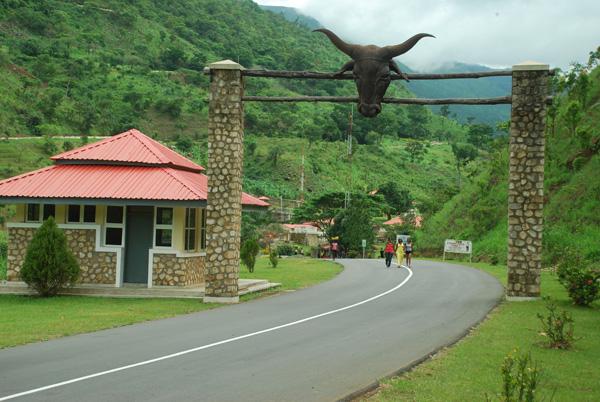 Obudu Ranch Gate