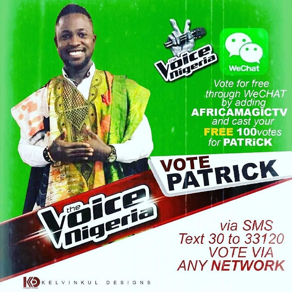 Vote Patrick Effiom