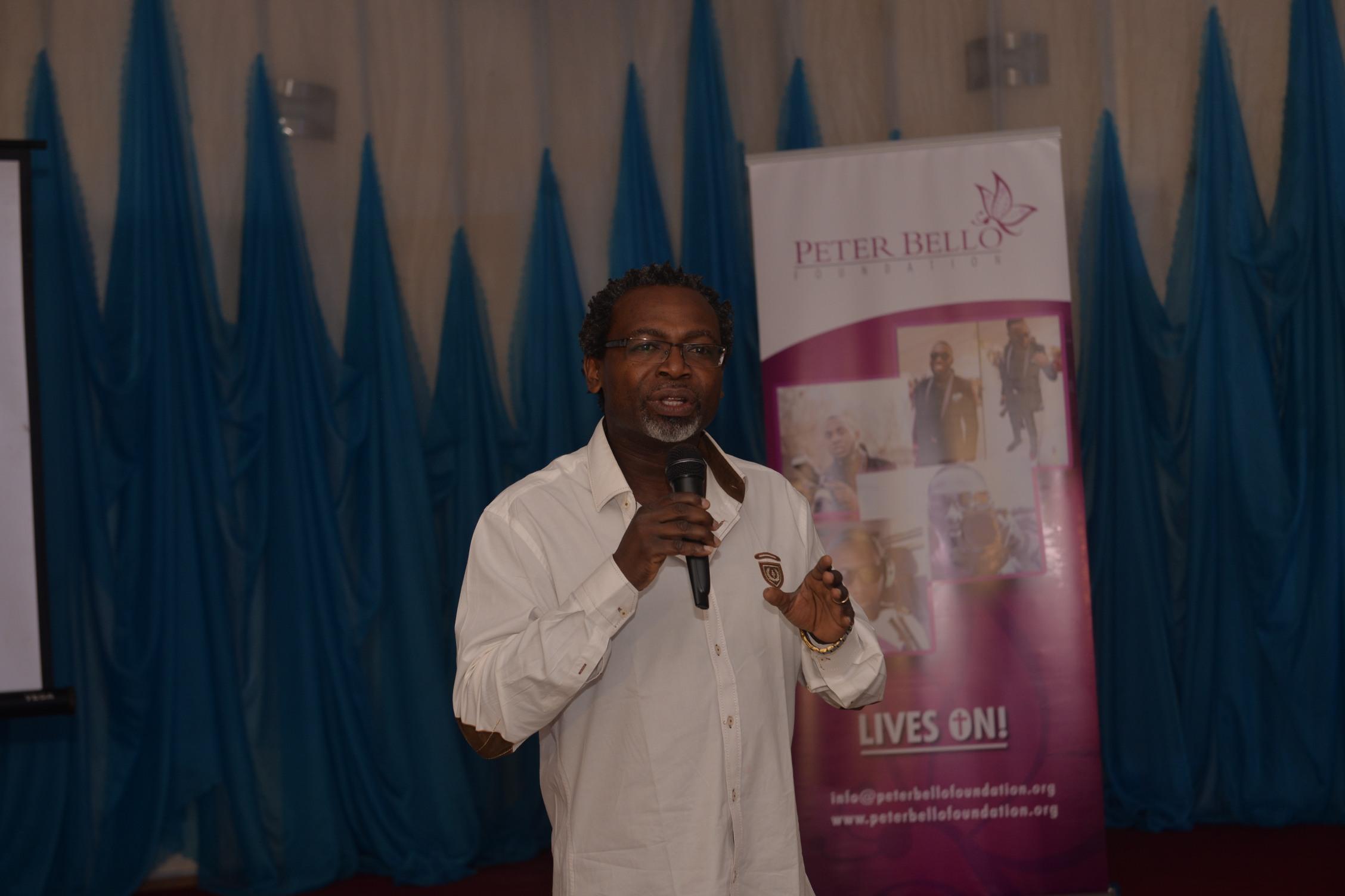 Kelechi Amadi Obi at the Photography Masterclass