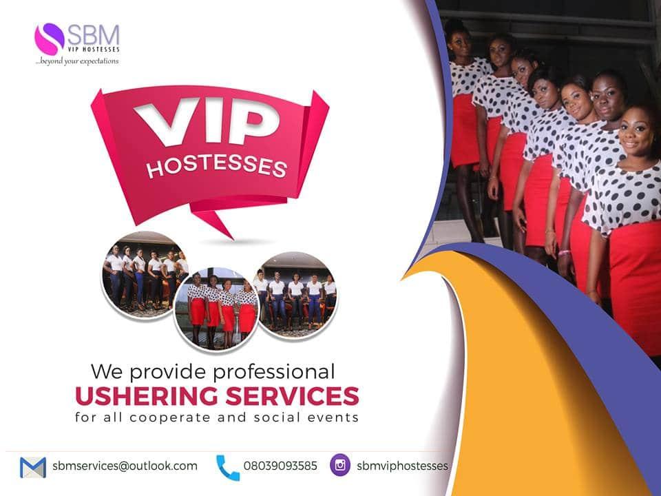 GET PROFESSIONAL USHERING SERVICE