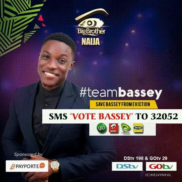 VOTE FOR BASSEY  #BBNaija