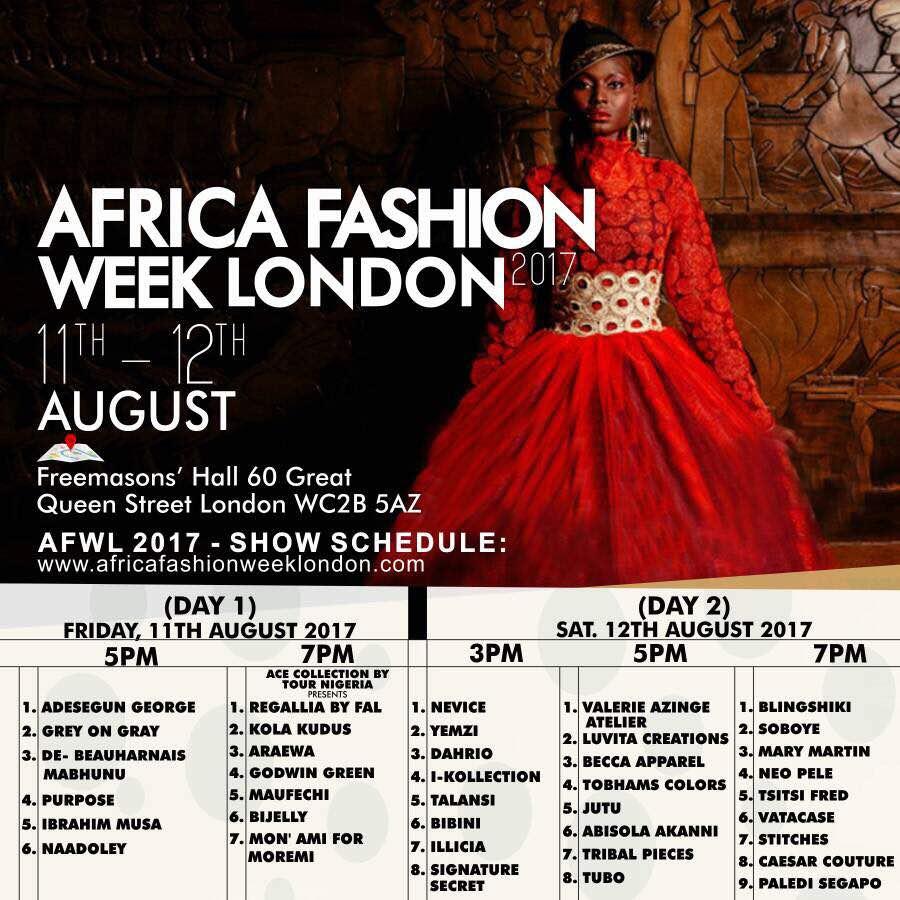 From Calabar To The World Luvita Creations To Showcase At Africa Fashion Week London 2017 Calabar Blog