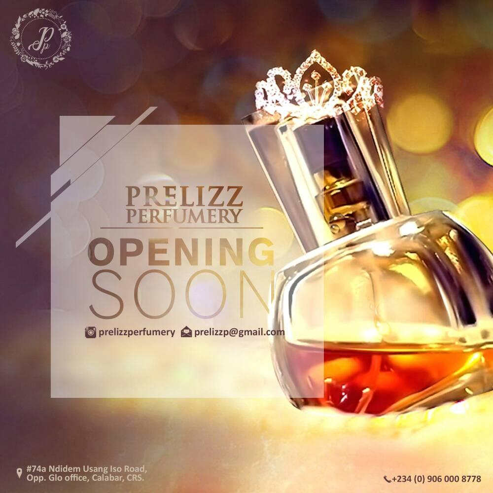 OPENING SOON..PRELIZZ PERFUMERY