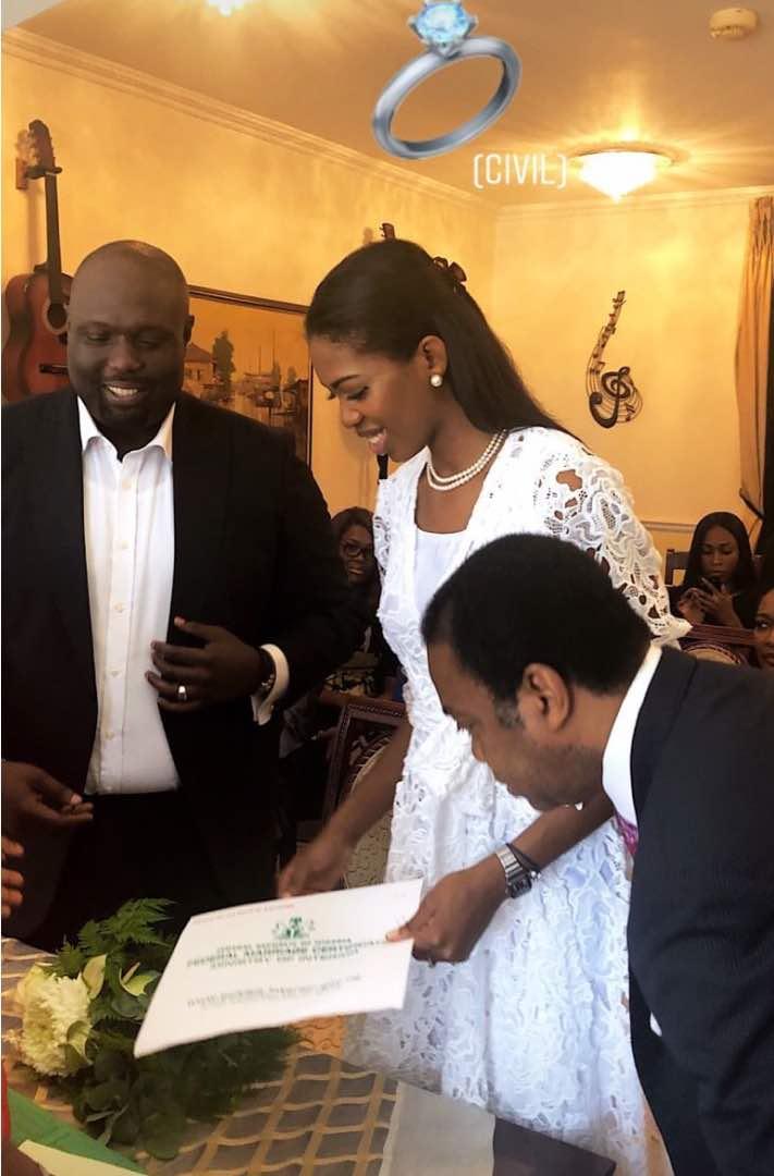 Beautiful Photos From Donald Duke's Daughter Court Wedding
